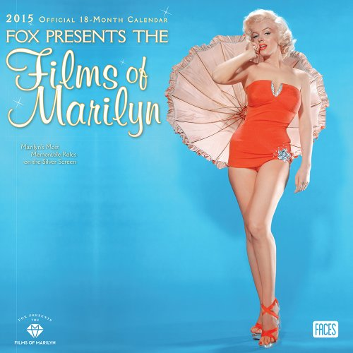 Marilyn Monroe - Fox Presents the Films of Marilyn 2015 Square 12x12 Faces (ST-Sparkle Foil): ...