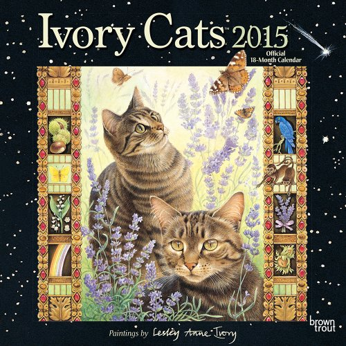 9781465030993: Ivory Cats by Lesley Anne Ivory 2015 Square 12x12