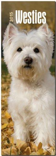 9781465031938: West Highland White Terriers 2015 Slimline Calendar