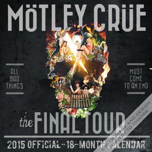 9781465033253: Motley Crue 2015 Square 12x12