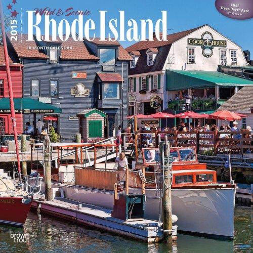 9781465034069: Rhode Island, Wild & Scenic 2015 Square 12x12 (Multilingual Edition)