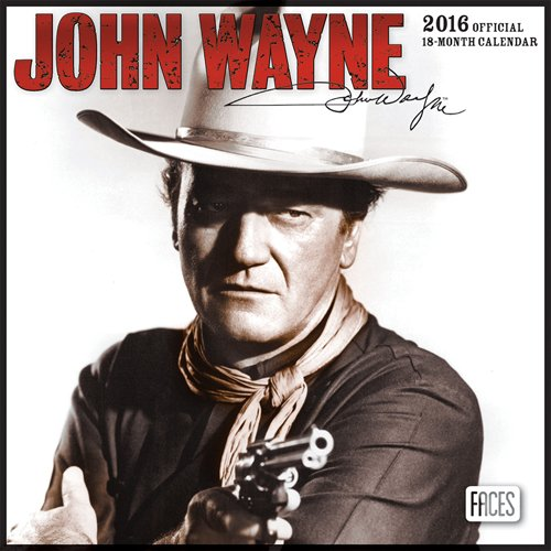 9781465039712: John Wayne 2016 Mini 7x7 Faces