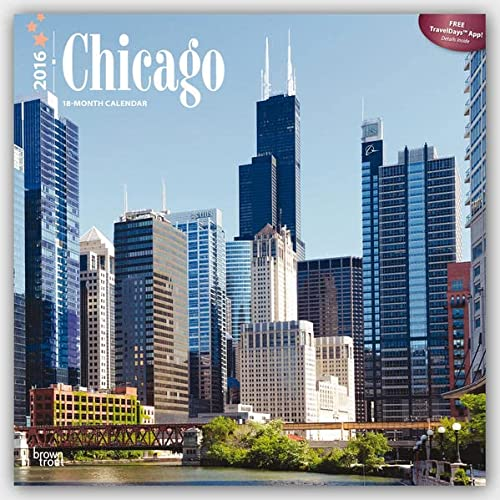9781465040602: Chicago 2016 Calendar