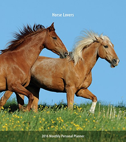 9781465041166: Horse Lovers Softcover Monthly Planner