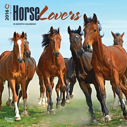 9781465041180: Horse Lovers 2016 Square 12x12 (Multilingual Edition)