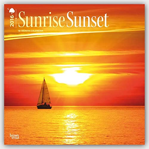 9781465042279: Sunrise Sunset 2016 Calendar