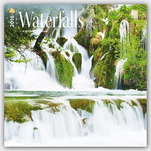 9781465042316: Waterfalls 2016 Calendar