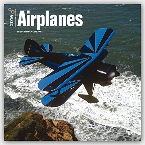 9781465042552: Airplanes 2016 Square 12x12