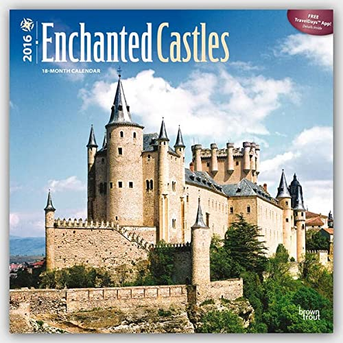 9781465043177: Castles, Enchanted 2016 Square 12x12 (Multilingual Edition)