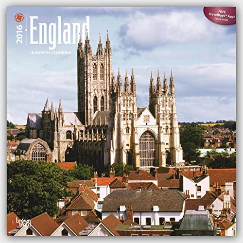 England 2016 Square 12x12 (Multilingual Edition): Browntrout Publishers