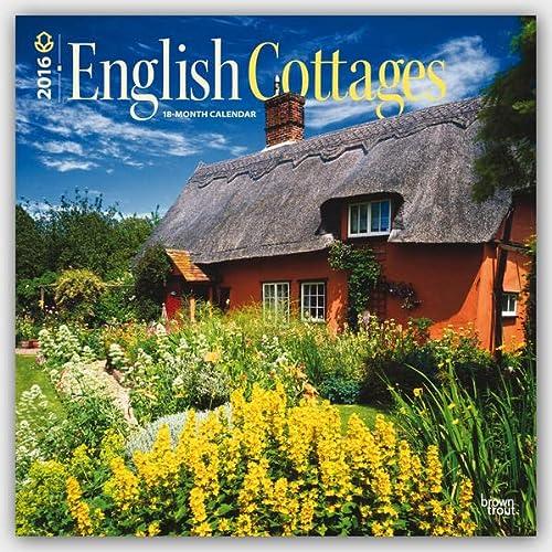 9781465043641: English Cottages 2016 Calendar