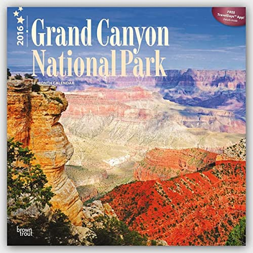 9781465043870: Grand Canyon National Park 2016 Square 12x12 (Multilingual Edition)