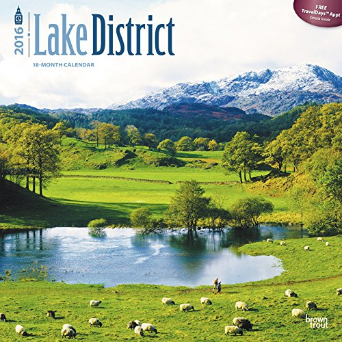 9781465044419: Lake District Wall Calendar by BrownTrout