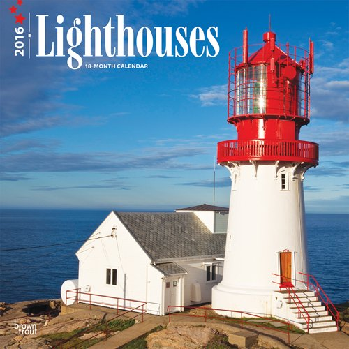 Lighthouses 2016 Square 12x12: Browntrout Publishers