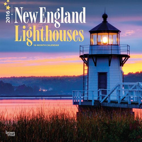 9781465044501: Lighthouses, New England 2016 Square 12x12 (Multilingual Edition)