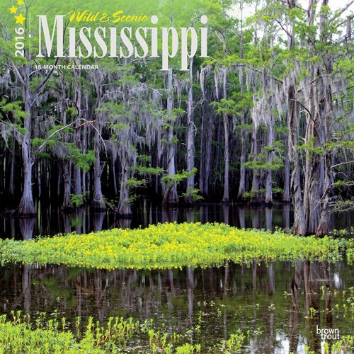 9781465044839: Wild & Scenic Mississippi 2016 Calendar