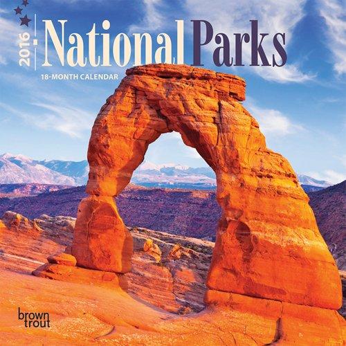 9781465045027: National Parks 2016 Mini 7x7