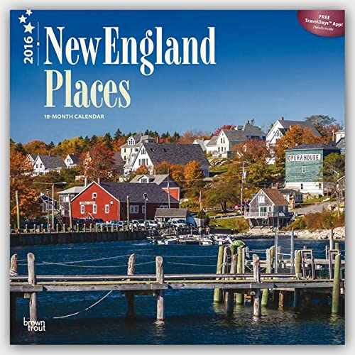 9781465045089: New England Places 2016 Square 12x12 (Multilingual Edition)