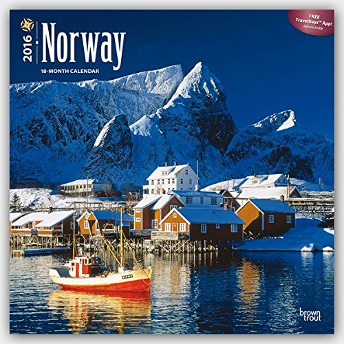 9781465045249: Norway 2016 Square 12x12