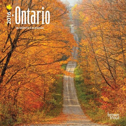 9781465045348: Ontario 2016 Calendar