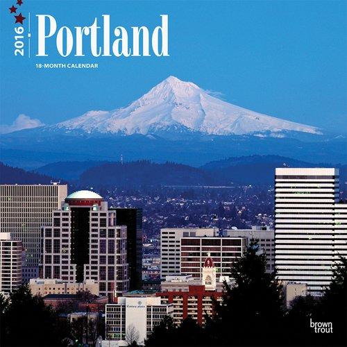 9781465045584: Portland 2016 12x12 Square 12x12 (Multilingual Edition)