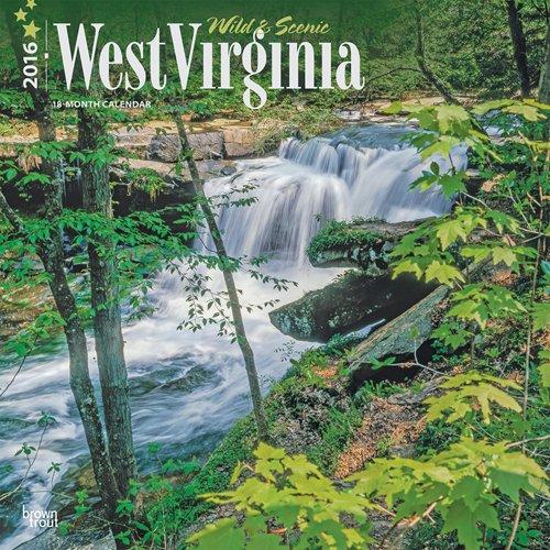 9781465046574: West Virginia, Wild & Scenic 2016 Square 12x12 (Multilingual Edition)
