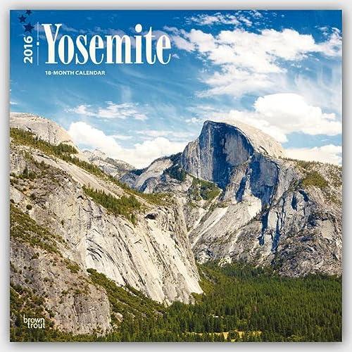 9781465046680: Yosemite 2016 Square 12x12 (Multilingual Edition)