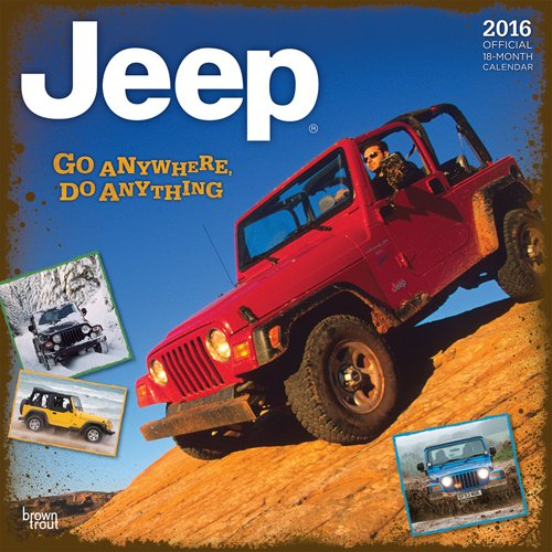 9781465046734: Jeep 2016 Calendar