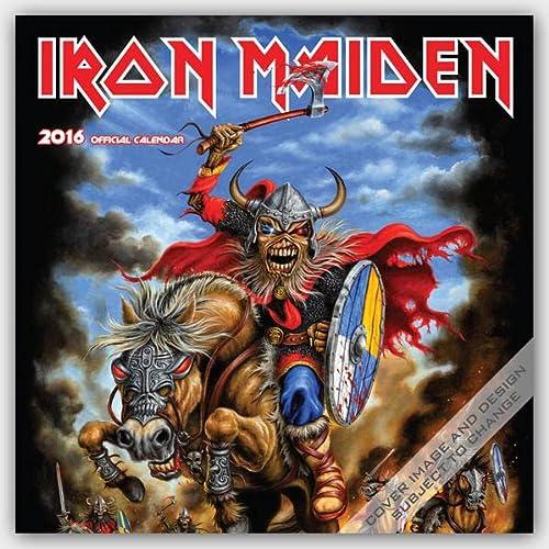 9781465046857: Iron Maiden 2016 Calendar