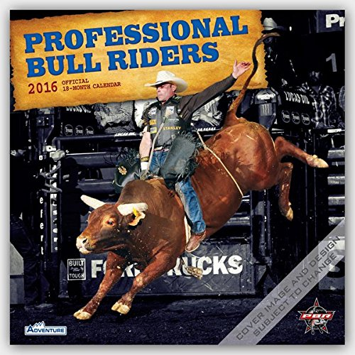9781465046970: Professional Bull Riders 2016 - Bullenreiter - 18-Monatskalender: Original BrownTrout-Kalender