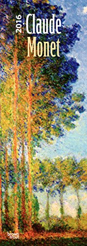 9781465048103: Claude Monet 2016 Slim