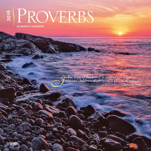 9781465049261: Proverbs 2016 Wall Vine Publications