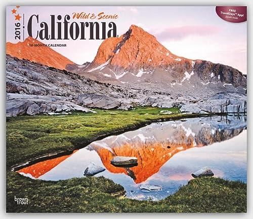 9781465049346: California, Wild & Scenic 2016 Deluxe (Multilingual Edition)