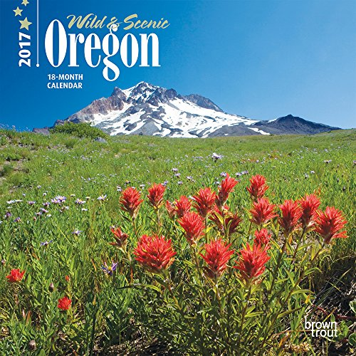 9781465053411: Oregon, Wild & Scenic 2017 Mini 7x7 (Multilingual Edition)