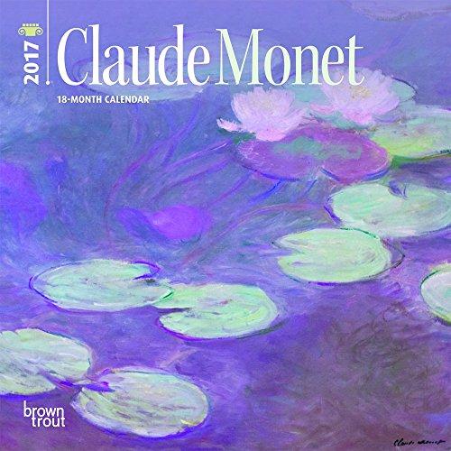 Monet, Claude 2017 Mini 7x7 (English-French) (Multilingual Edition)