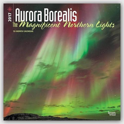 9781465055125: Aurora Borealis: The Magnificent Northern Lights 2017 Square