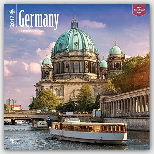 9781465055149: Germany 2017 Wall Calendar (Square Wall)
