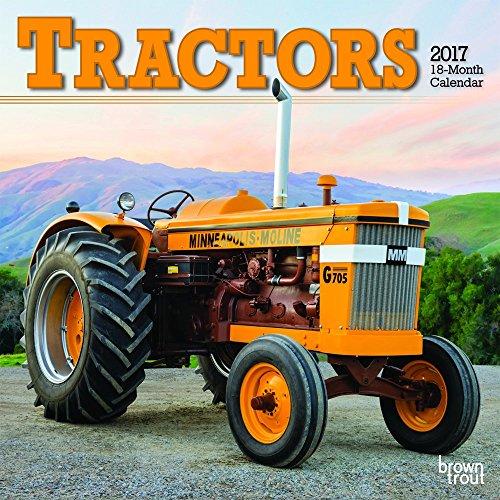 9781465056429: Tractors 2017 Mini 7x7