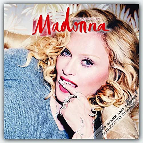 9781465057297: Madonna 2017 - 12inch x 12inch Hanging Square Wall Photographic Planner Calendar by Live Nation