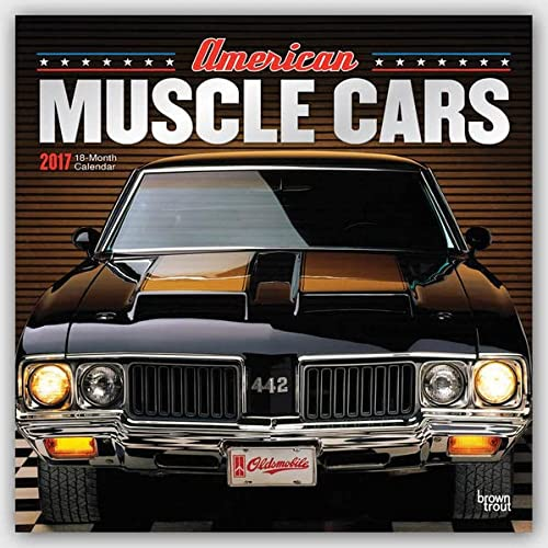 9781465057471: American Muscle Cars 2017 Square (ST-Foil)