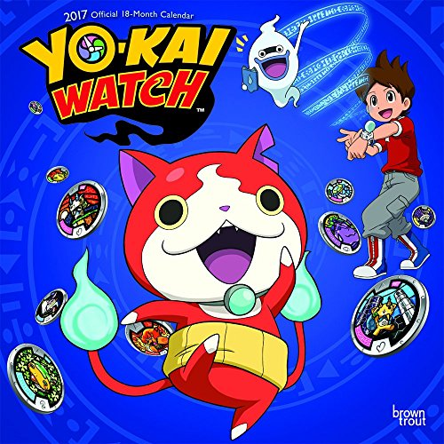 9781465057747: YOKAI WATCH 2017 WALL CALENDAR