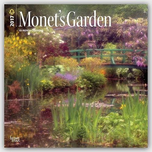 9781465081094: Monet's Garden 2017 Wall