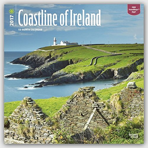 9781465082992: Coastline of Ireland 2017 Square (Multilingual Edition)