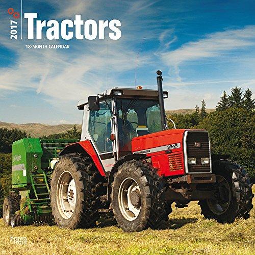 9781465083913: Tractors 2017 Square 2017 Wall Calendar