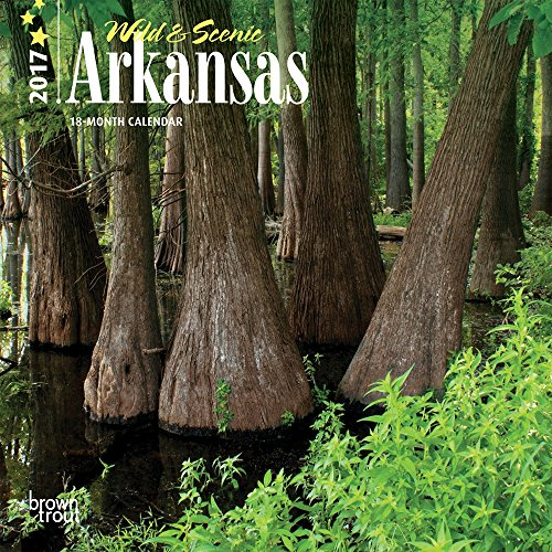 9781465084040: Arkansas, Wild & Scenic 2017 Mini 7x7