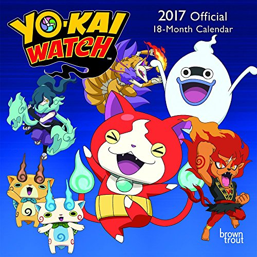 9781465085467: Yo-Kai Watch 2017 Mini 7x7