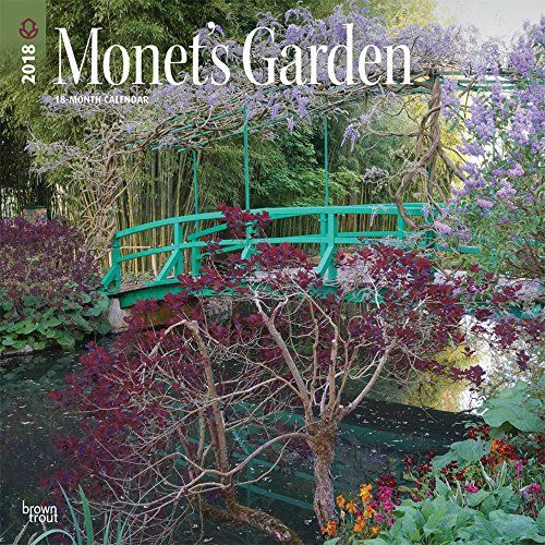 Monet's Garden 2018 12 x 12 Inch: BrownTrout Publishers