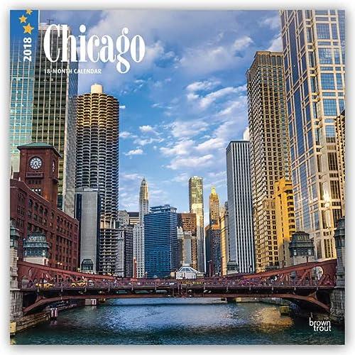 2018 Chicago Wall Calendar