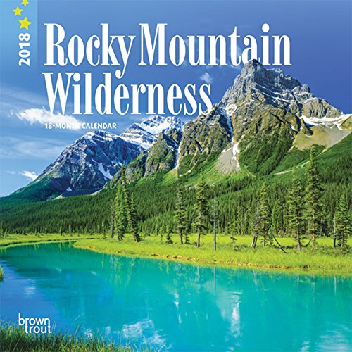 Rocky Mountain Wilderness 2018 7 x 7: BrownTrout Publishers