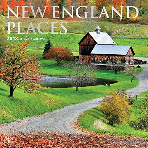 New England Places 2018 12 x 12: BrownTrout Publishers